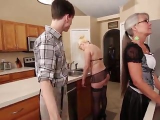 Mother and Stepsis Three-Way after brainwash - Leilani Lei Fifi Foxx