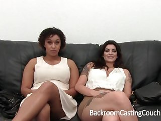 Outstanding Bi-Racial Hefty Orb 3Some Audition