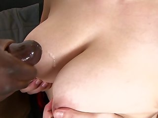 Carol Wings gets her twat shagged hard by a raging fat black cock