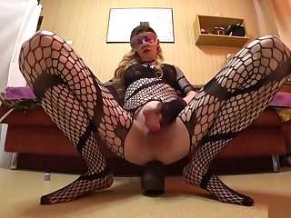 I stroker and riding a catch big black cock