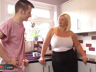 Agedlove full-grown chubby blowjob added to doggystyle