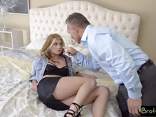 BrattySis - Sprog Wants Keelhaul Fuck From Step Dad