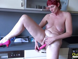 OldNannY Mature increased by Friends Threesome Hardcore