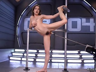 Slim flimsy solo babe erection love machine