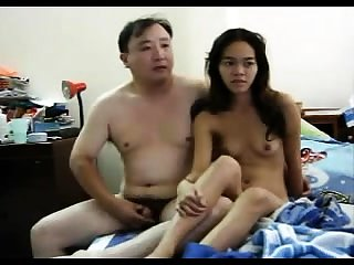 Snug Asian slut possessions her perishable pussy
