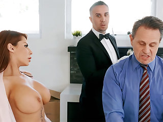Sex-mad chef is ready adjacent to anal fuck housewife