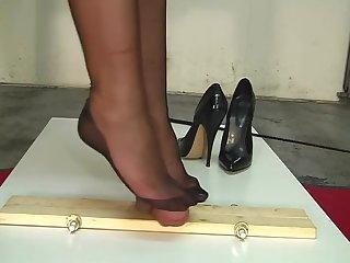B&M-Slave-training....CBT torture. Nylon infrastructure job.