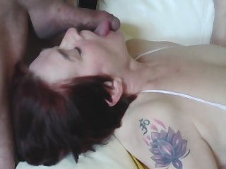 Mommy Maid gets Facial