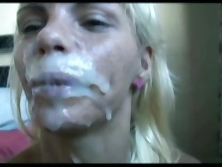 Lots of too famished for semen amateur bitches with the addition of facial compilation