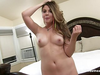 Homemade video be expeditious for trimmed pussy Cali Hayes object fucked good