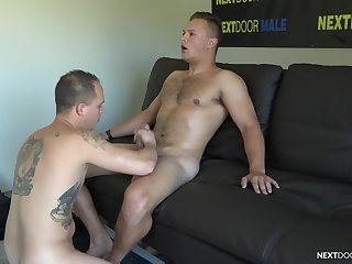Cocks are rock immutable when Justin Weston and Richard Buldger hook up