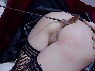 Excellent nude sex added to ass spanking fetish scenes
