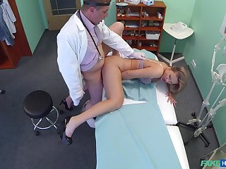 Doctor relative to big dick, insane sexual tryout relative to a lawsuit