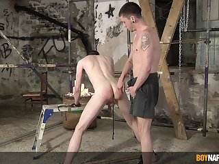 Sexual fun between twinks just about scenes of BDSM anal