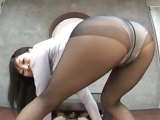 Cute Japanese chick Miku Sunohara loves grinding on his cock