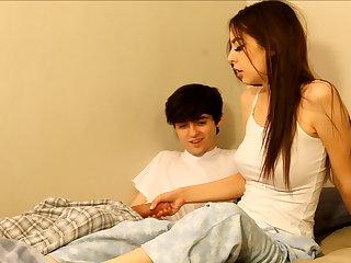 Deprecatory older brother seduces sister