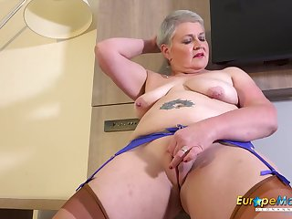 Busty Mature Candy Cummings Exposing Her Tits Increased by Fucked Ourselves