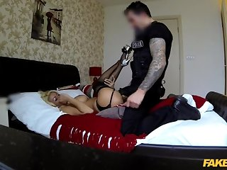 Lethal truncheon: MILF escort with big tits gets creampie