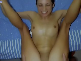 POV: Stepfather fuck daughter relating to ass with an increment of creampied their way (anal birthday)