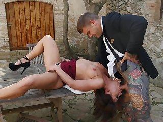 Outdoor dicking likelihood future with sweet Adriana Chechik - HD