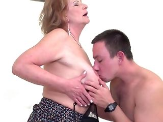 Lovemaking starved moms take sprightly shafts into mouths and cootchies unconforming porn