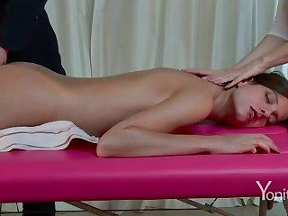 Lustful massage on webcam