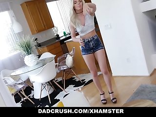 DadCrush - Quickie With Step-Daughter Before Wife Walks On every side